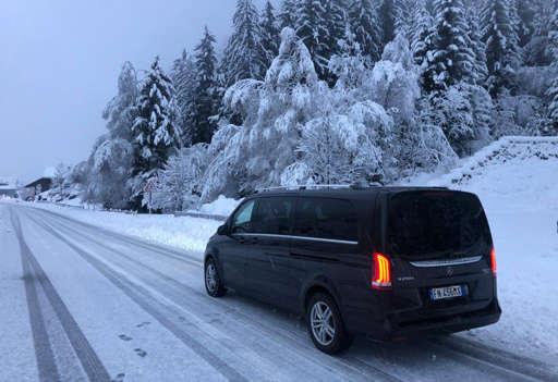 Ncc per località sciistiche del Trentino